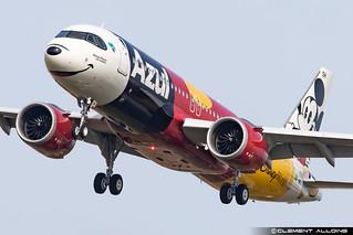 Azul Linhas Aéreas Brasileiras Airbus A320-251N cn 10582 F-WWDY // PR-YSH