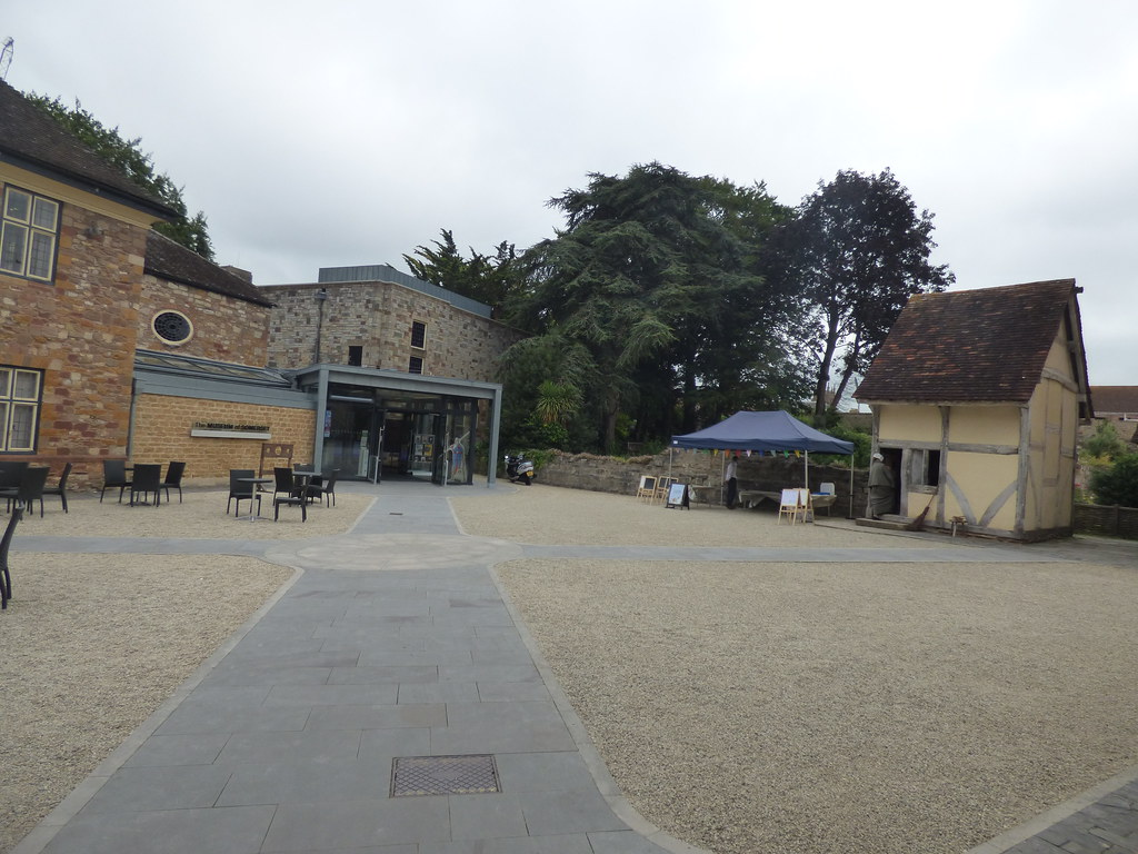 The Museum of Somerset - Taunton Castle - Timber Framed building