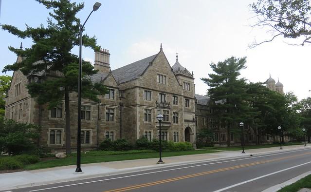 Law Quadrangle of the University of Michigan (Ann Arbor, Michigan)
