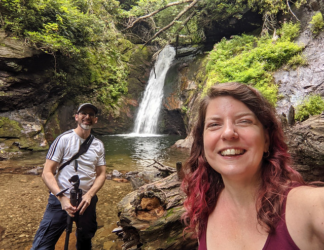 selfie @ Courthouse Falls