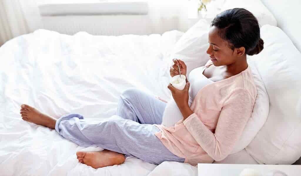 Un probiotique du yaourt protège le microbiome