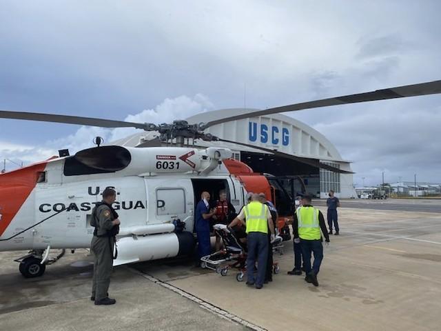 Air Station Borinquen aircrew rescues swimmer in distress