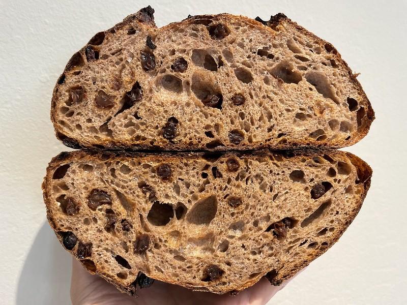 Whole Wheat 12%, Whole Rye 12% - Cinnamon Raisin