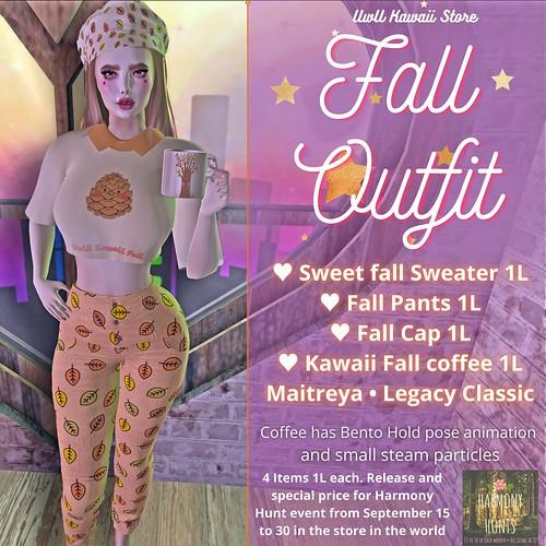 Fall Outfit - UwU Kawaii Store