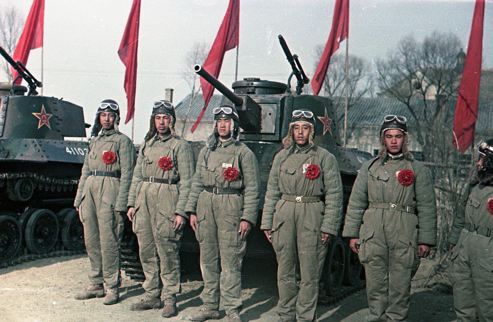 1949. Танкисты Народно-освободительной армии Китая (НОА). 21.12