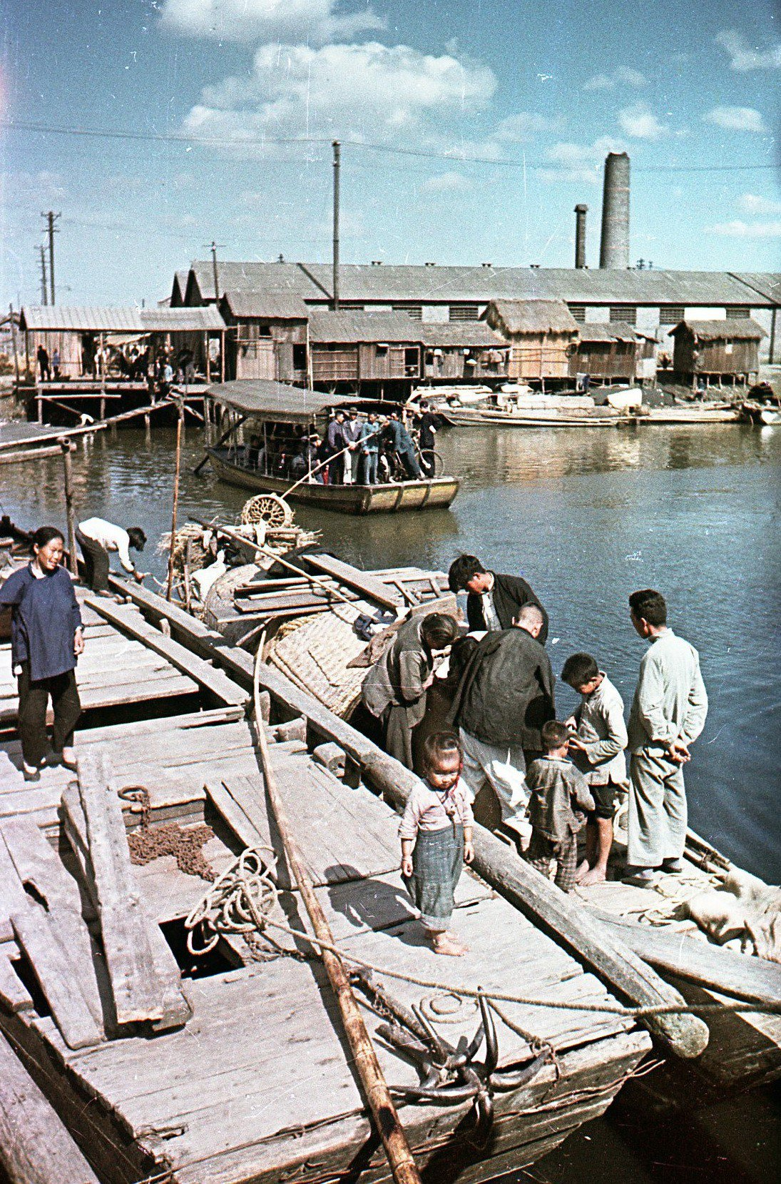 1949. Рабочий район Шанхая