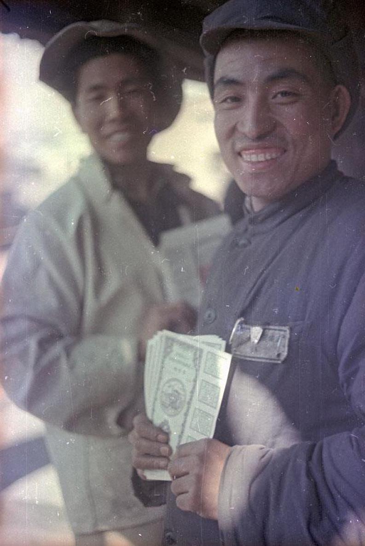 1949. Рабочие-доменщики