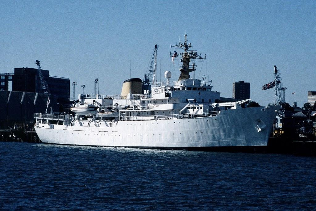 HMS HECLA A133