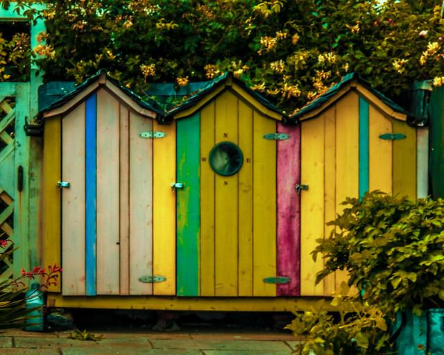 Beach Huts - Lower Largo