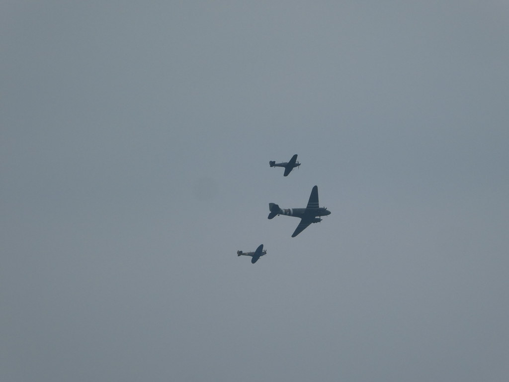 The Battle of Britain Display at the Bournemouth Air Show