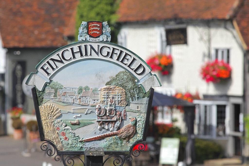 Finchingfield Village North Essex.