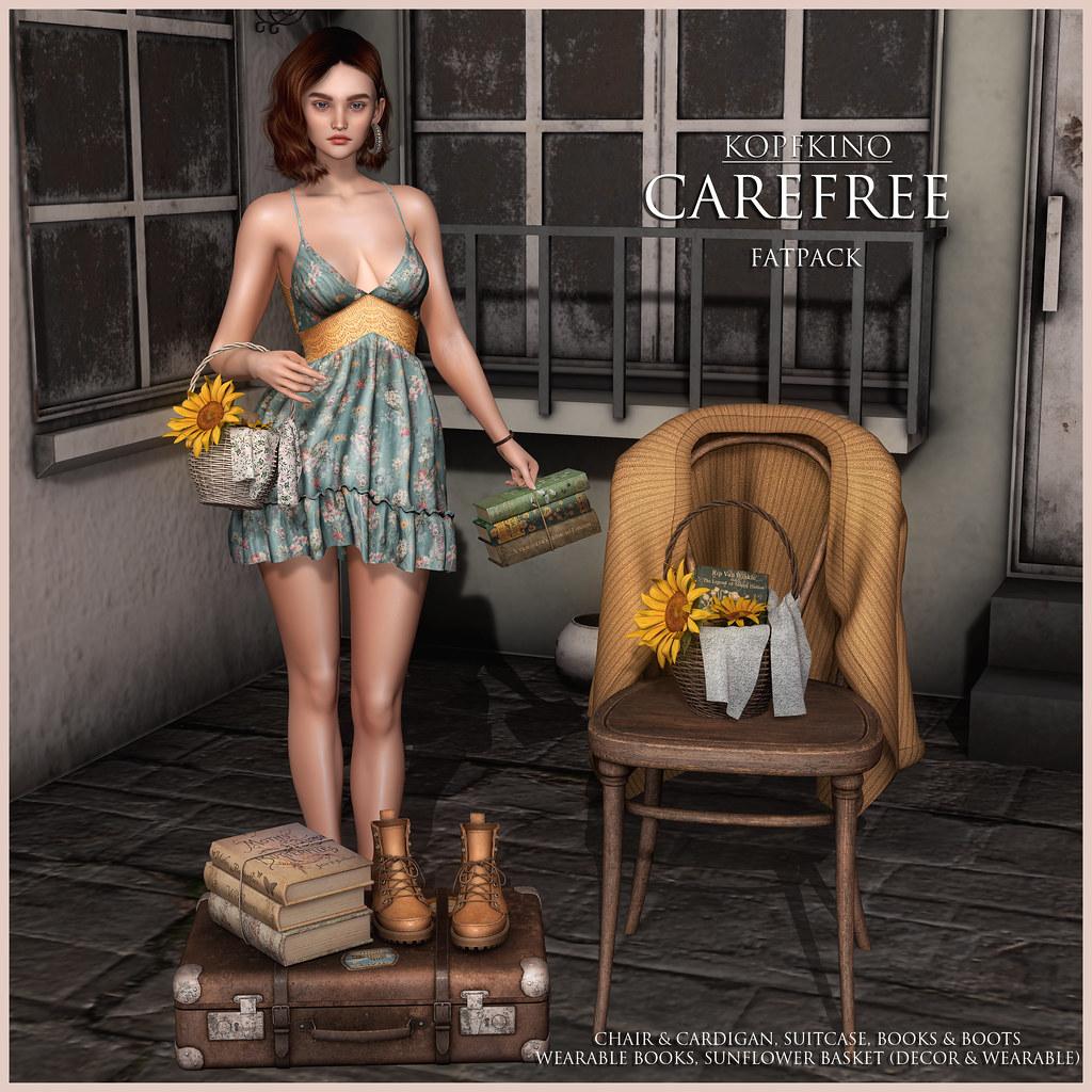 NEW! KOPFKINO – Carefree @kustom9