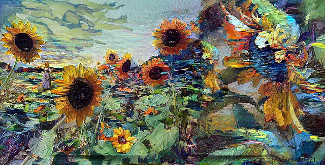 Sunflowers in Oil