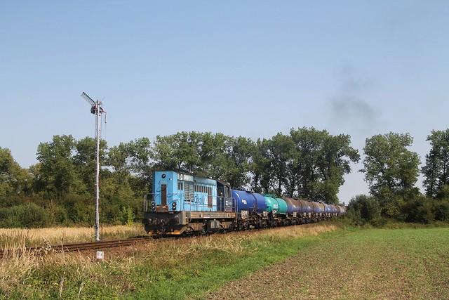 ČDC 742 192-8 bij Křinec op 10-9-2021