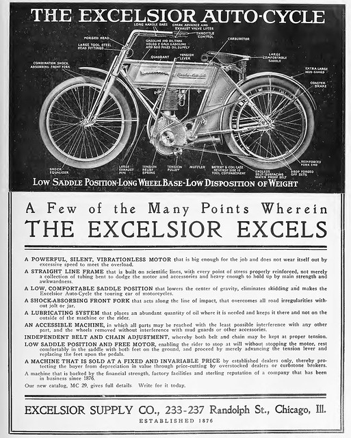 The Excelsior Autocycle