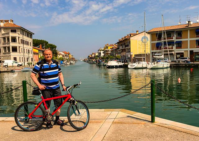 20140428_0511_Veneto-Venedig(270) - Kurze Pause am Hafen von Grado /  Short break at the port of Grado