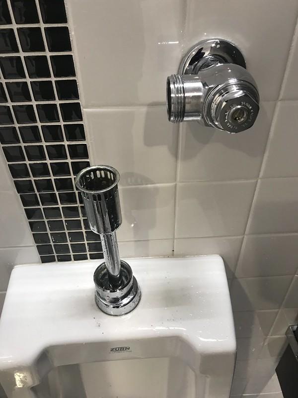 Detached flush-o-meter