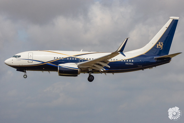 Boeing Business Jet B737-77Z BBJ N839BA