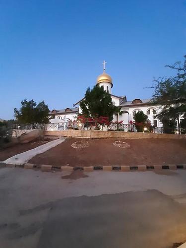 13 сенбярбя 2021 г. Игумения Екатерина прибыла в Иорданию