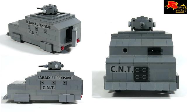 Armored Torras SCW - details