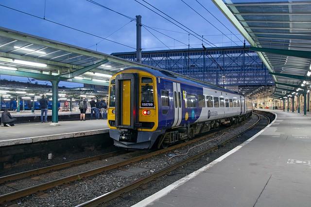 Northern Super Sprinter 158 789 Carlisle