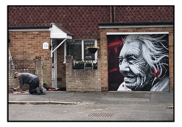 LONDON STREET ART by ABRAHAM.O.