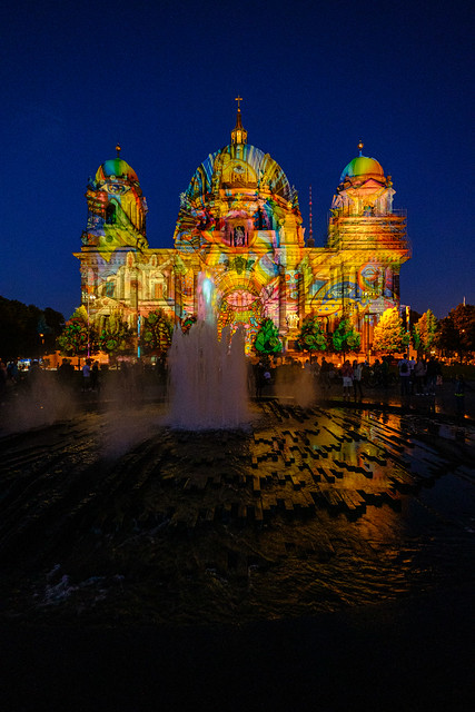 Berliner Dom - Festival of Lights 2021