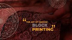 The Art of Genuine Block Printing