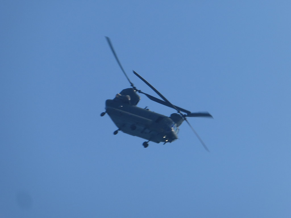 Chinook Helicopter at the Bournemouth Air Show