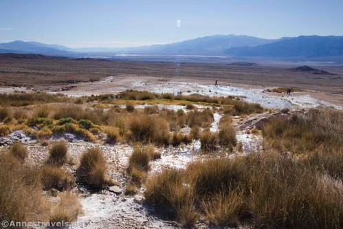 Views toward Badwater from near Keane Spring, Death Valley National Park, California