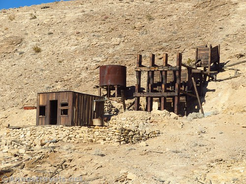 John Cyty's cabin and stamp mill, Death Valley National Park, California