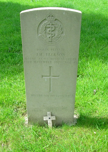 Wolsingham War Grave
