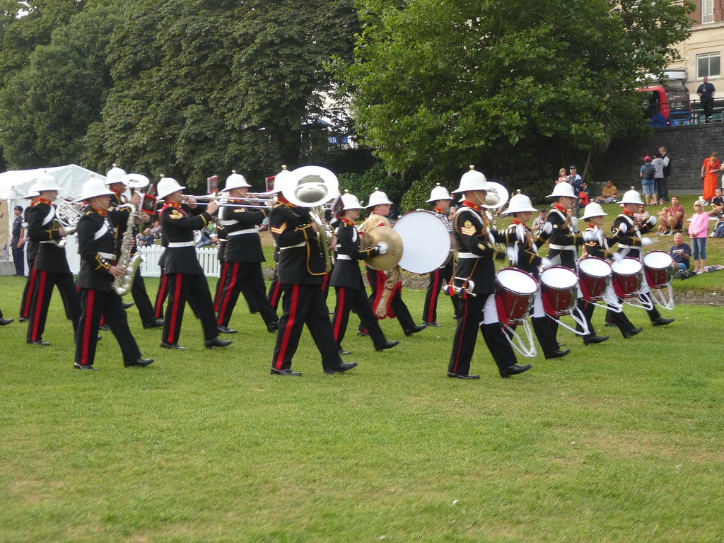 Beating the Retreat, Bournemouth Air Show