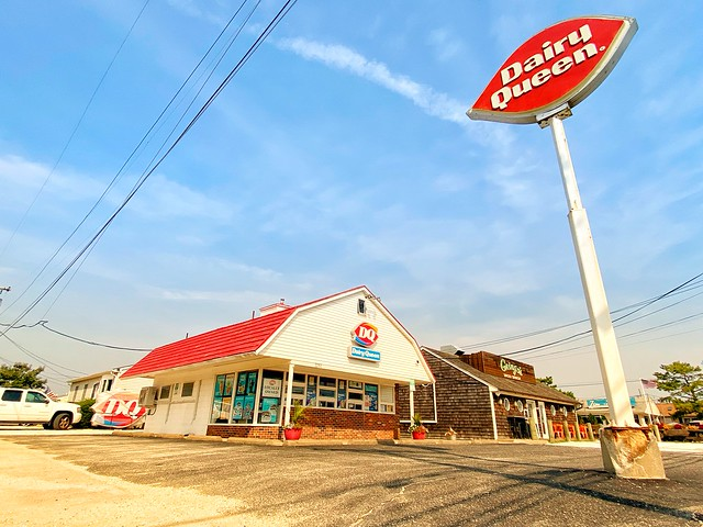 Dairy Queen of Lavallette, NJ Awaiting Its New Sign