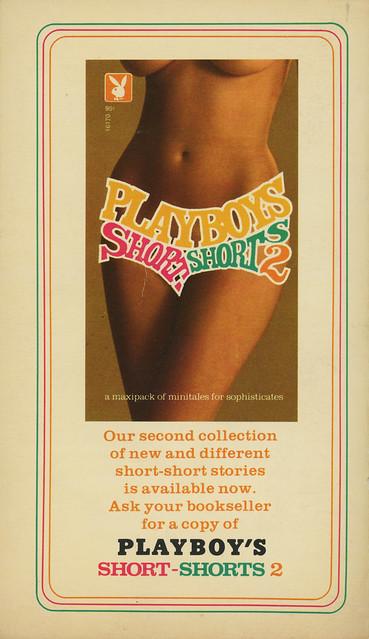 Playboy Press 16221 - Playboy's Short-Shorts 1 (back)