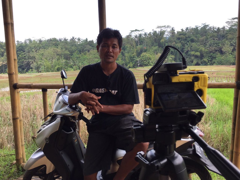 Si Boen, Youtuber Desa dengan Sejuta Subscribers Terkesan dengan Yamaha Gear 125