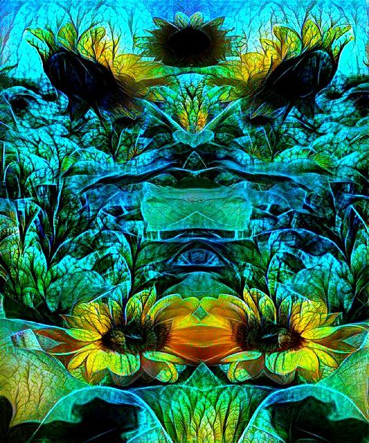 Sunflowers Under The Sea