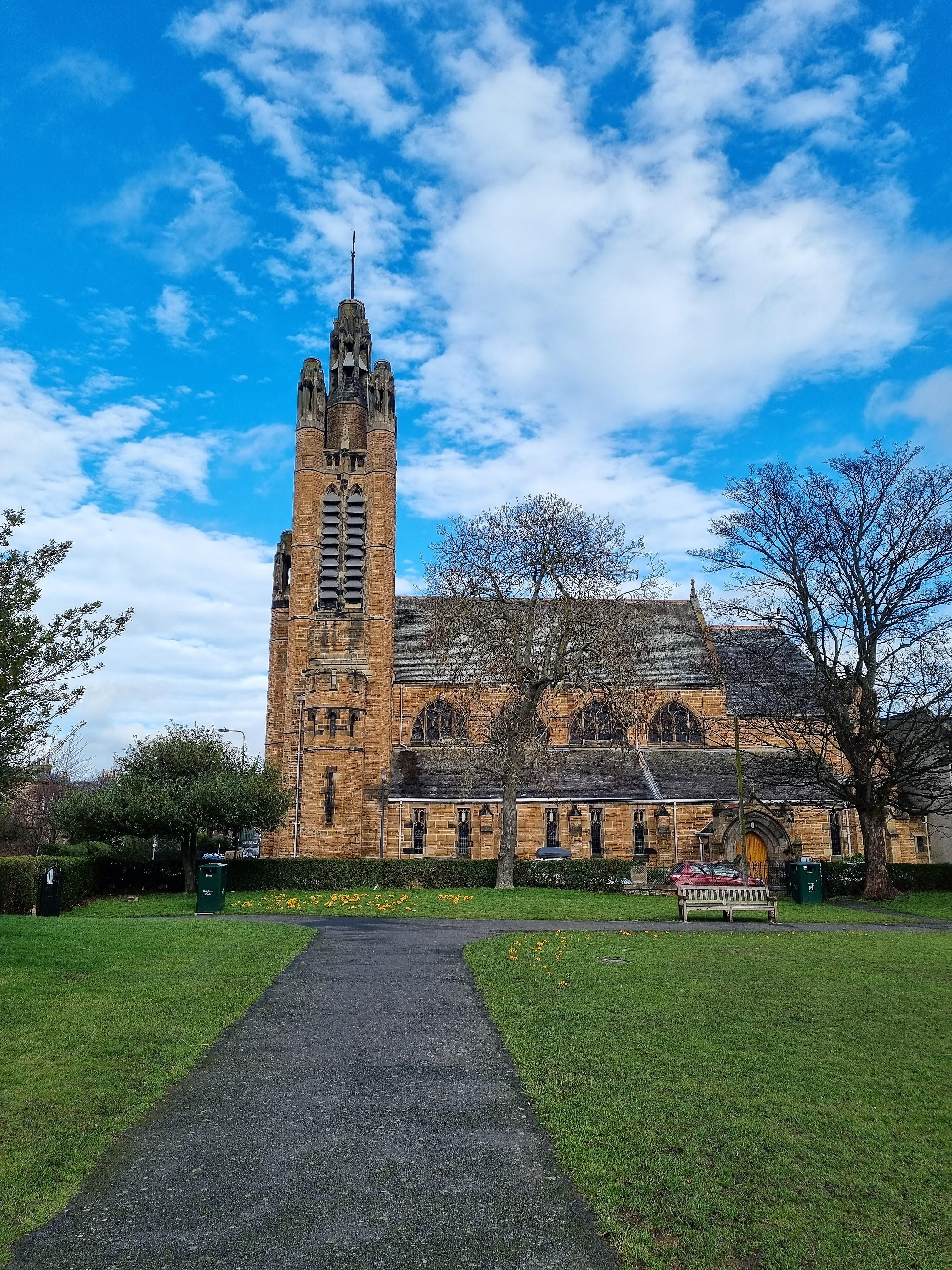 EDINBURGH, St John The Evangelist Exterior