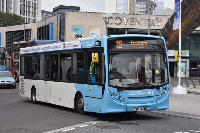'National Express Coventry' Alexander Dennis Enviro 200 '841' (SN64 ODT)