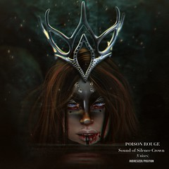 POISON ROUGE Sound of Silence Crown @We <3 Role-Play