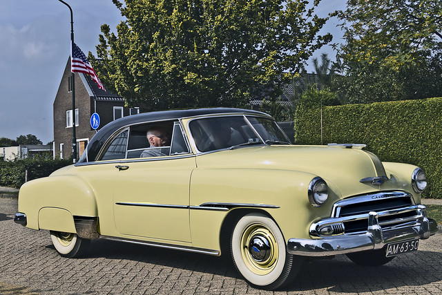 Chevrolet Styleline DeLuxe Sedan 1951 (6391)