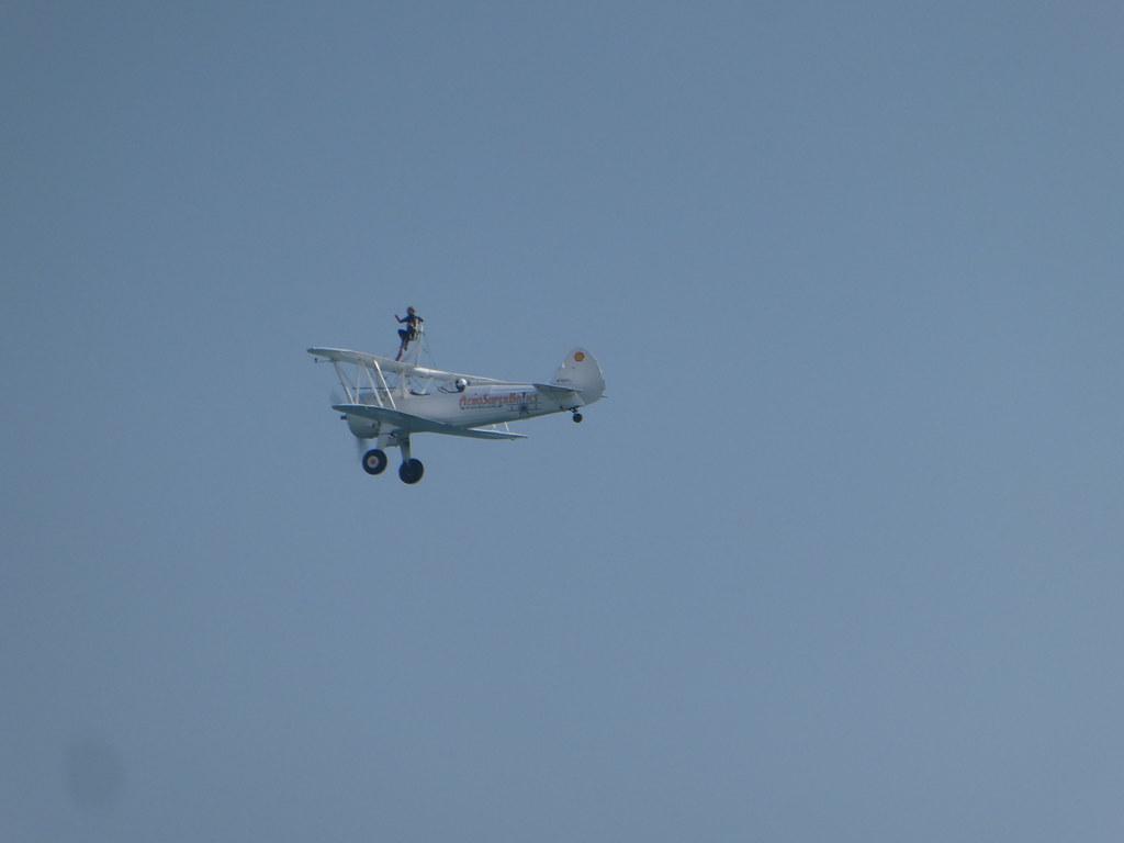 AeroSuperBatic Wingwalkers at the Bournemouth Air Show