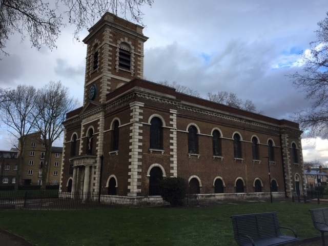 LONDON, Bethnal Green, St Matthew External