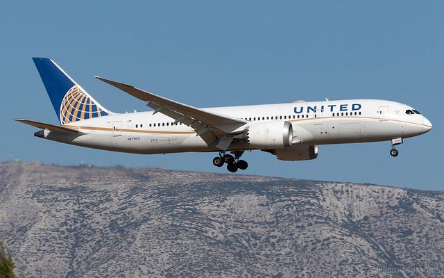 Boeing 787-8 Dreamliner N27903 United Airlines