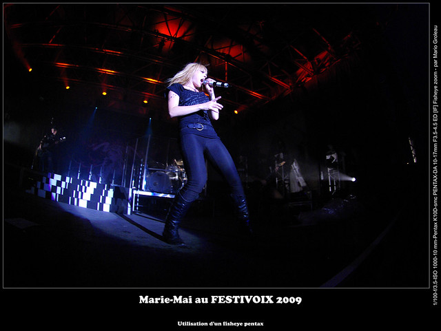 Marie-Mai au FESTIVOIX 2009