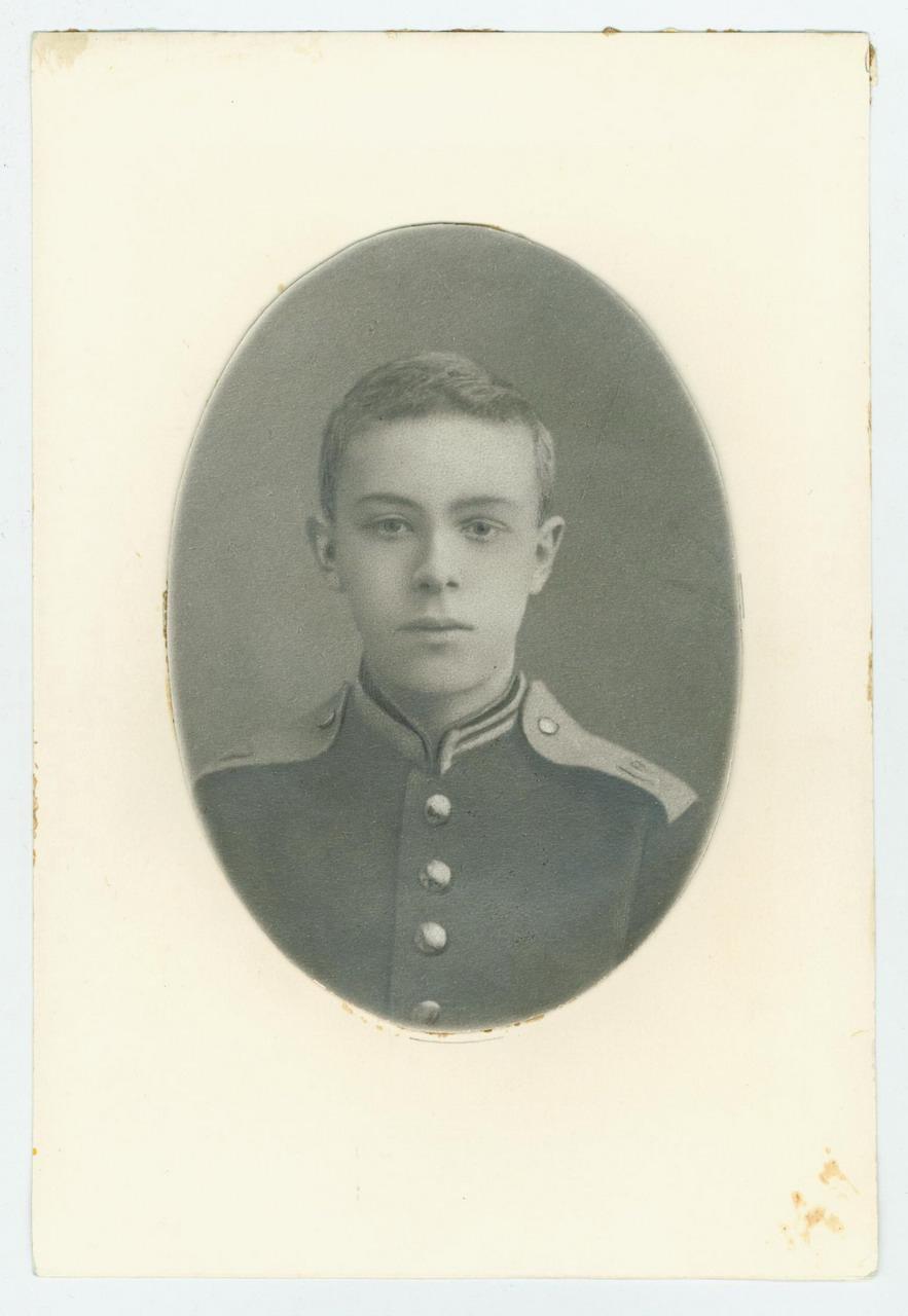 13. 1883. А.Н. Скрябин в кадетском мундире