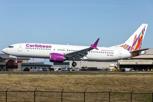 9Y-CAL - Boeing 737-MAX 8 - Caribbean - KPAE - 08 Sept 2021