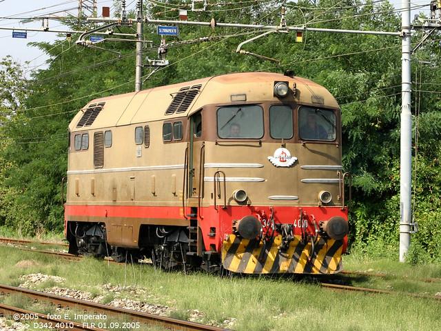 Transita isolata a Firenze Cascine la D342.4010