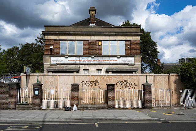 Abandoned Building, Englefield Road, Salston