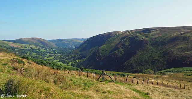 Cwm Rhiwarth above Llangynog